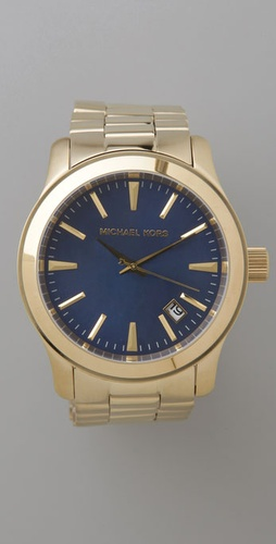 Michael Kors Men's Oversized Gold Watch