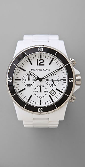 Michael Kors Black Bezel Watch