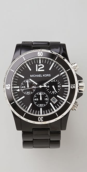 Michael Kors Black Oversized Watch