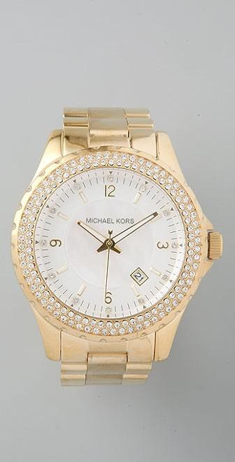 Michael Kors Bling Bezel Watch