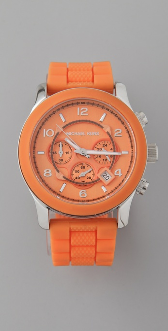 Michael Kors Large Strap Watch