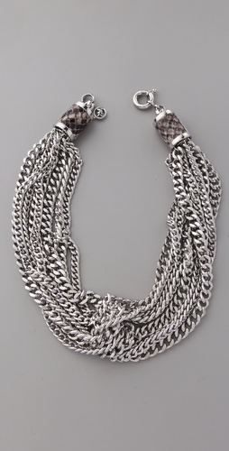 Michael Kors Modern Opulence Chain Necklace