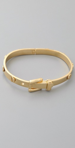 Michael Kors Buckle Gold Bracelet