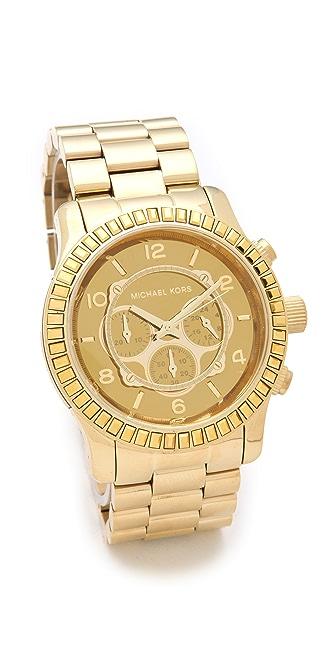 Michael Kors Runway Glitz Chronograph Watch