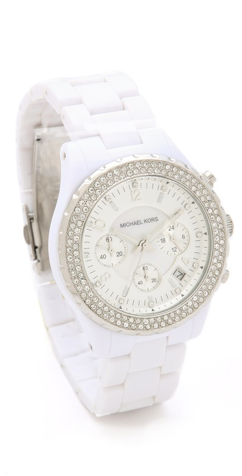 Michael Kors Madison Glitz Chronograph Watch