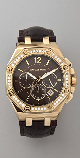 Michael Kors Knox Octagonal Chronograph Watch