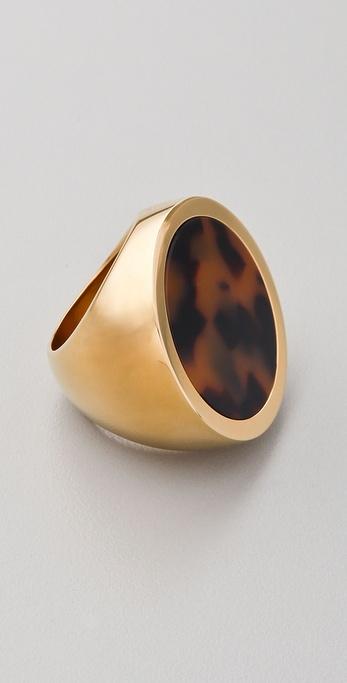 Michael Kors Jet Set Tortoise Ring