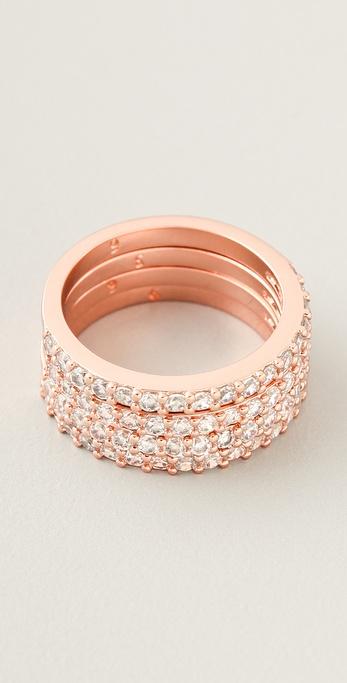 Michael Kors Sparkle Ring Set