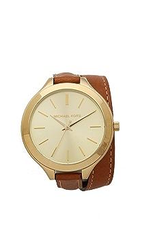Michael Kors Slim Double Wrap Watch