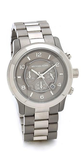 Michael Kors Cargo Aviator Watch
