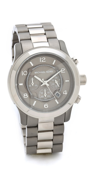 Michael Kors Cargo Aviator Watch