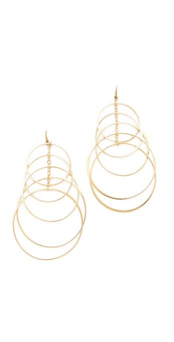 Michael Kors Multi Hoop Orbit Earrings