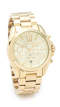 Michael Kors Bradshaw Gold Chronograph Watch