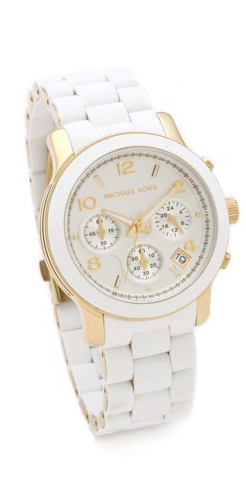 Michael Kors Sport Watch - White