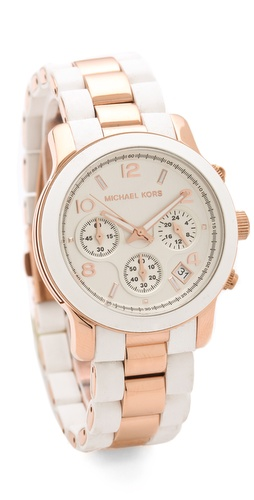 Michael Kors Runway Time Teller Watch