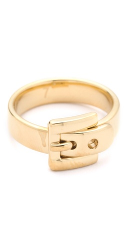 Michael Kors Jet Set Glamour Buckle Ring