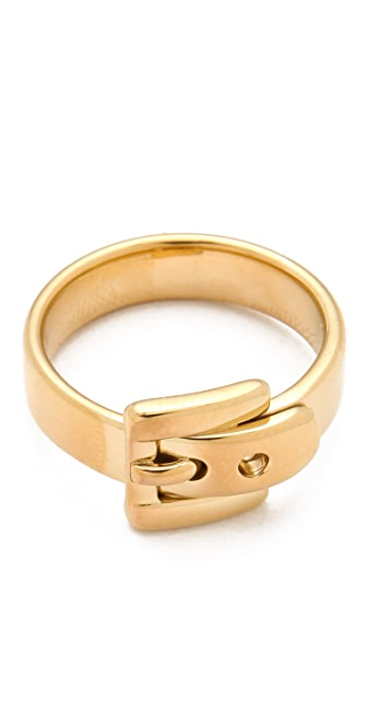 Michael Kors Jet Set Buckle Ring