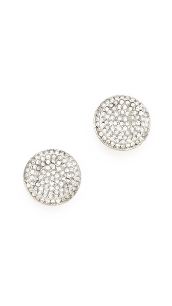 Michael Kors Concave Stud Earrings