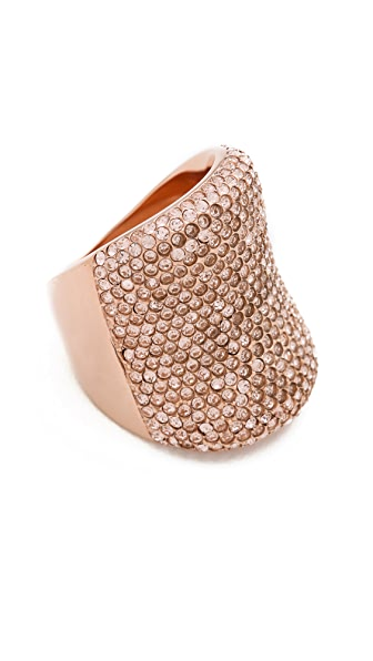 Michael Kors Pave Concave Ring