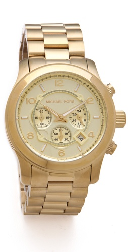 Michael Kors Oversized Watch at Shopbop.com