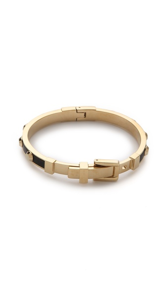 Michael Kors Leather Astor Bangle