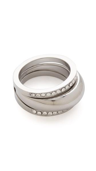 Michael Kors Grayson Pave Ring Set