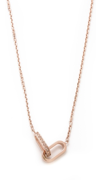 Michael Kors Interlocking Necklace