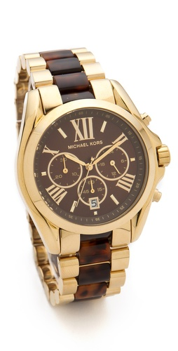 Michael Kors Bradshaw Chronograph Watch at Shopbop.com