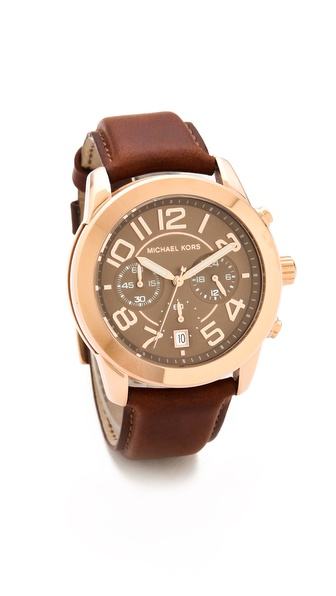 Michael Kors Mercer Heritage Sport Watch