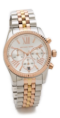 Michael Kors Lexington Triology Watch at Shopbop.com