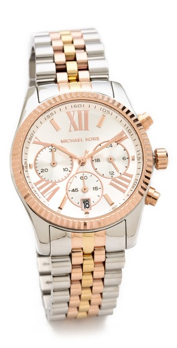 Michael Kors Lexington Triology Watch at Shopbop / East Dane
