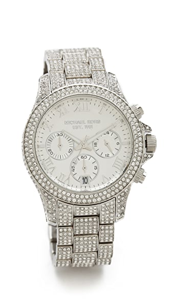 Michael Kors Glitzy Layton Watch