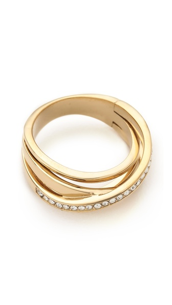 Michael Kors Brilliance Intertwined Ring