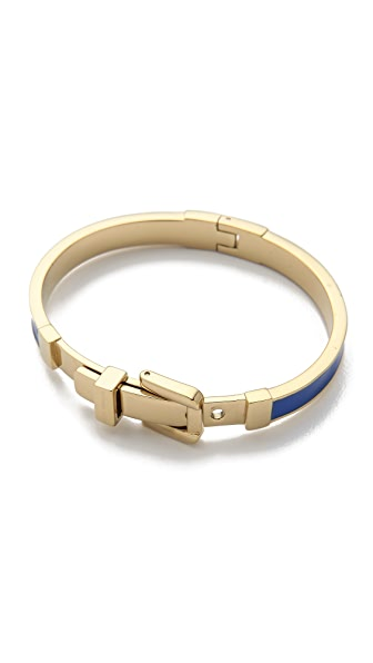 Michael Kors Epoxy Buckle Bangle Bracelet