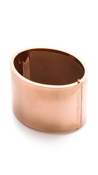 Michael Kors Wide Bangle Bracelet