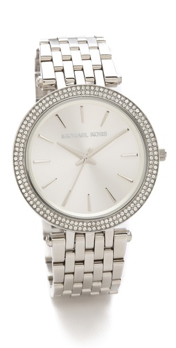Michael Kors Darci Glitz Watch at Shopbop.com