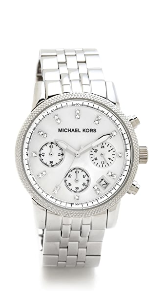 Michael Kors Ritz Watch (Silver)