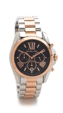 Michael Kors Bradshaw Two Tone Watch
