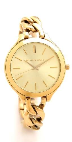 Michael Kors Slim Runway Twist Watch at Shopbop / East Dane