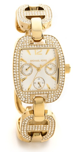 Michael Kors Emma Crystal Watch at Shopbop / East Dane