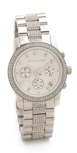 Michael Kors Everyday Bling Runway Watch at Shopbop / East Dane