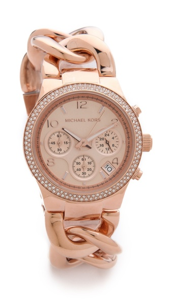 Michael Kors Touch Of Glitz Runway Watch