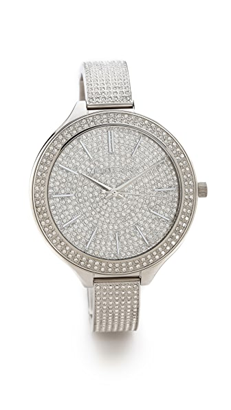 Michael Kors Glitz & Glamour Slim Runway Watch
