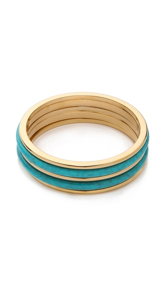 Michael Kors 5 Stack Bangle Bracelet