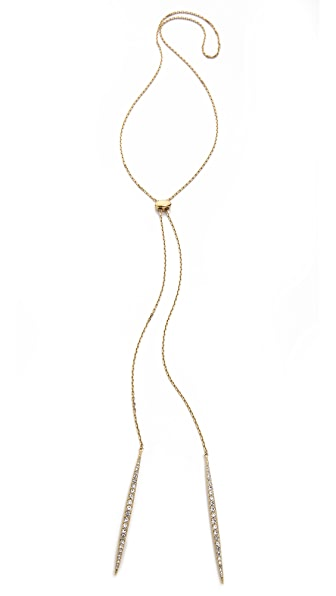 Michael Kors Matchstick Lariat Necklace