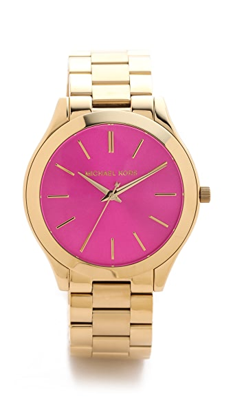Michael Kors Preppy Chic Slim Runway Watch