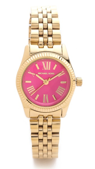 Michael Kors Preppy Chic Petite Lexington Watch