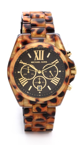 Michael Kors Safari Chic Bradshaw Watch
