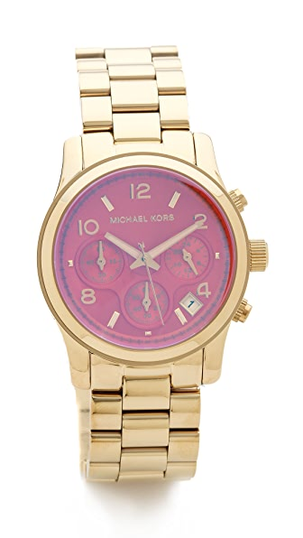 Michael Kors Summer Chic Runway Watch