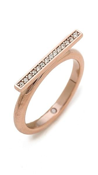 Michael Kors Pave Bar Ring